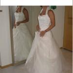 Brautkleid Frontansicht2