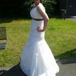 Hochzeitskleid real komplett
