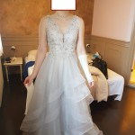 front wedding day