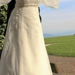Brautkleid von vorne lang