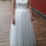 Brautkleid vorne