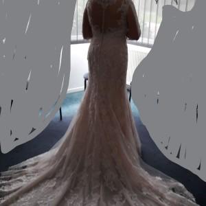 Kleid hinten