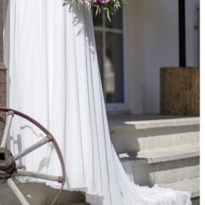 Hochzeitskleid - gesamt vorne