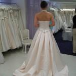 Haag - Kleid von hinten